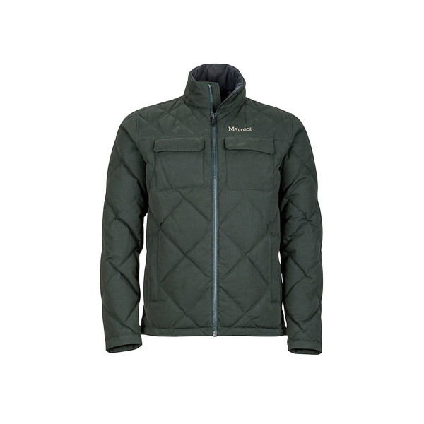 [Marmot] (男) Burdell Jacket 都會休閒保暖外套 暗雲杉綠 (M81700-4741)