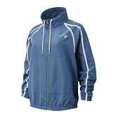 New Balance 女裝 外套 慢跑 防風 LOGO 線條設計 藍【運動世界】WJ11800DPE