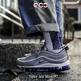 Nike 休閒鞋 Air Max 97 銀 紫 銀彈 氣墊 男鞋 經典款 氣墊 【ACS】 DJ0717-001
