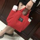 簡約帆布手提包(原價199)