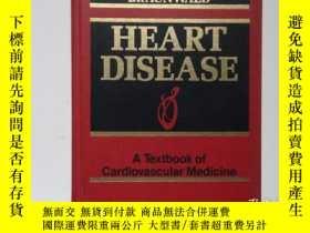 二手書博民逛書店舊書外文《Heart罕見Disease:A Textbook Of Cardiovascular Medicine