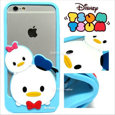 官方授權 迪士尼 Tsum Tsum 疊疊樂 立體 Q版 iPhone 6 6S Plus 手機殼 邊框 TPU 軟殼 唐老鴨 黛西