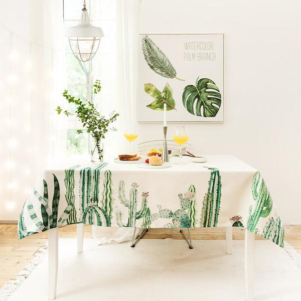時尚可愛空間餐桌布 茶几布 隔熱墊 鍋墊 杯墊 餐桌巾397  (140*140cm)