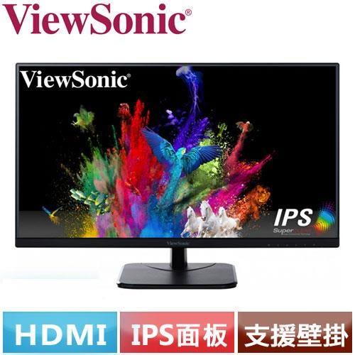 ViewSonic優派 27型 IPS寬螢幕 VA2756-MH