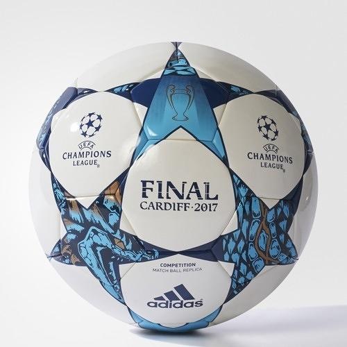 【折後$1380】▶adidas UEFA Champions League Finale Cardiff Competition Football 足球 決賽 白藍 AZ5201