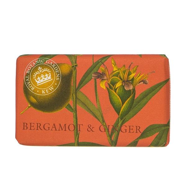 岡山戀香水~Kew Gardens 英國皇家植物園 乳木果油天然香皂 240g (薑味佛手柑) ~優惠價:299元