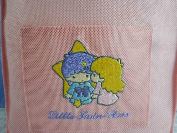 【震撼精品百貨】Little Twin Stars KiKi&LaLa 雙子星小天使~袋子_粉