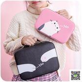 化妝包 化妝包小號便攜韓國簡約可愛少女心大容量多功能品包收納盒箱手提 霓裳細軟