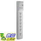 [104美國直購] 防護插座 Belkin BE107200-12 7-Outlet Home/Office Surge Protector with 12 feet Cord