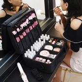 多層專業化妝包美妝箱