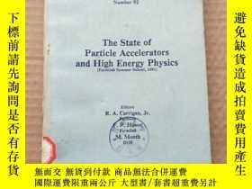 二手書博民逛書店the罕見state of particle accelerators and high energy physi