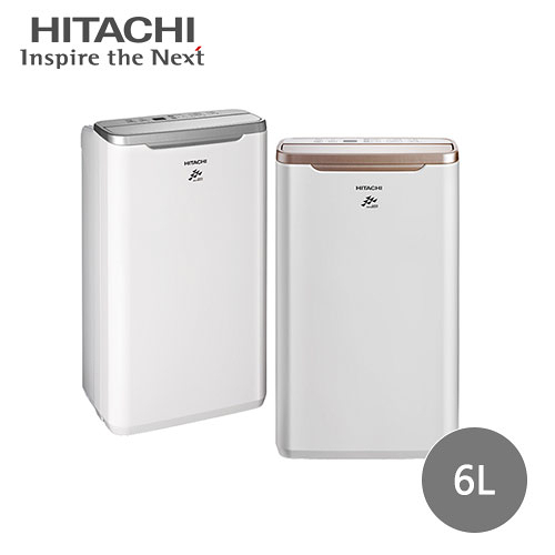 【HITACHI日立】6公升舒適節電除濕機 RD-12FR/RD-12FQ(顏色隨機)