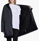 ISNEAKERS Adidas Adicolor Jacket 女裝 黑 白Logo 長版 連帽外套 DH4588