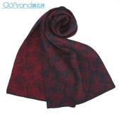 Vivienne Westwood 雙色滿版草寫星球圖樣圍巾(紅/深藍色)910535