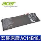 ACER AC14B18J . 電池 ES1-521 ES1-522 ES1-571 ES1-531G ES1-731G ES1-531 MS2392 MS2393 TExtense 2519 B116-M N15W4