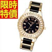 鑽錶-清新大方潮流鑲鑽女手錶4色62g42【時尚巴黎】
