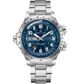 Hamilton漢米爾頓Khaki X-Wind御風者自動腕錶-藍 H77765141