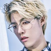【Front 光學眼鏡】GM3815-三色可挑選#簡約圓框光學眼鏡