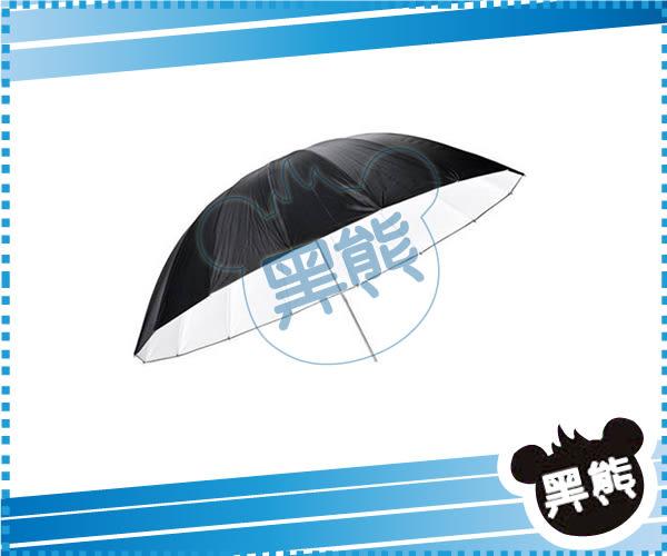 黑熊館 神牛 GODOX 60吋 150cm 黑白反光傘 反射傘 柔光傘 無影罩 纖維骨架 無影罩 棚燈 閃光燈
