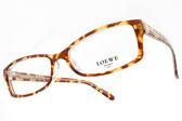 LOEWE 光學眼鏡 VLW838K 9AX (深棕琥珀) 帥氣方框款 # 金橘眼鏡