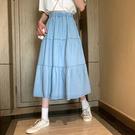 """(免運)ZUCA""""S - 小個子半身裙傘裙百搭A字裙 - D-1648"""
