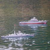 恒泰超大號遙控軍艦航空母艦電動高速遙控船輪船兒童玩具模型禮品 英雄聯盟MBS