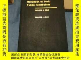 二手書博民逛書店英文版:Handbook罕見of Toxic Fungal Me