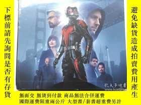 二手書博民逛書店蟻人罕見電影藝術畫冊設定集 英文原版 Marvel s Ant-