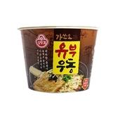 韓國不倒翁 油豆腐烏龍麵(碗)100g  【小三美日】泡麵/進口/團購