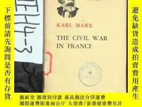 二手書博民逛書店KARL罕見MARX THE CIVIL WAR IN FRAN