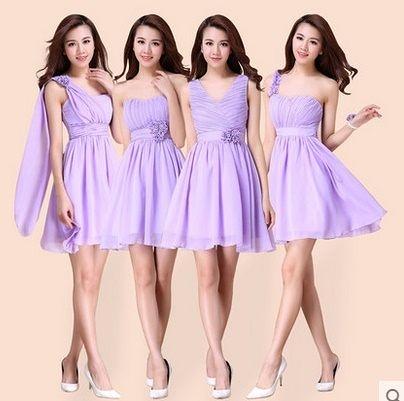 伴娘服 夏 伴娘禮服 小禮服 伴娘裙-mingm00206