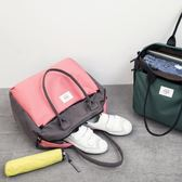 登機包-短途手提袋旅行袋行李袋旅行包小行李包套拉桿箱拉桿包旅游包女男 【korea時尚記】