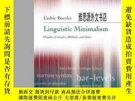 二手書博民逛書店【罕見】2006年出版 Linguistic MinimalismY236371 Cedric Boeckx