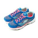 skechers 超輕量慢跑鞋--GOrun Sonic--藍螢橘--13914BLHP--女