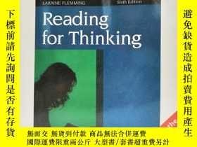 二手書博民逛書店Reading罕見for Thinking 英文原版-《爲思維而