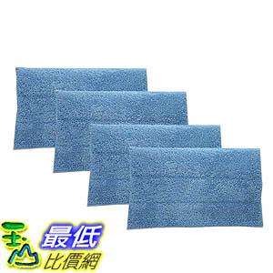 [106美國直購] 4 Highly Durable Washable & Reusable Shaggy Steam Mop Pads Nos. AD50005, AD50000, 76B2A
