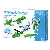 【日本 Kawada 河田】Nanoblock 迷你積木 帥氣基本組 Basic Set PBS-002