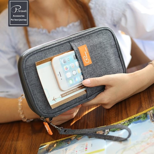 護照包多功能證件包護照夾票據收納包
