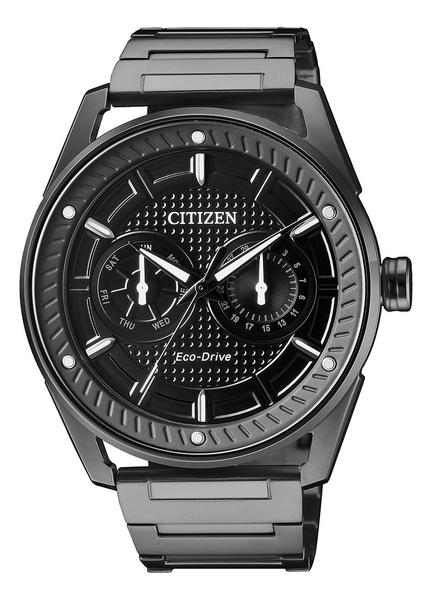 42mm【分期0利率】星辰錶 CITIZEN 光動能 全黑 全新原廠公司貨 BU4028-85E