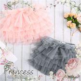 小公主最愛雪紡紗蛋糕層次短褲-2色(270606)★水娃娃時尚童裝★