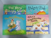 【書寶二手書T3/少年童書_PMB】The Very Sleepy Sloth_Fidgety Fish等_共4本合售