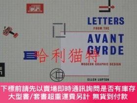 二手書博民逛書店Letters罕見from the Avant-garde: Modern Graphic Designアヴァンギ