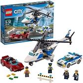 LEGO 樂高 City 城市系列 員警直升機和警車 60138 積木玩具 男孩 車