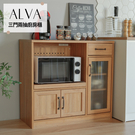 餐櫃 電器櫃 櫥櫃 廚房架 下櫃【P0018】Alva三門兩抽廚房櫃 (兩色) 收納專科