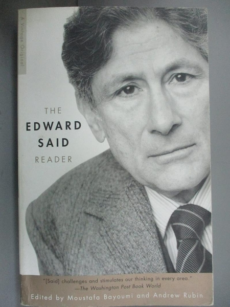 【書寶二手書T4/原文小說_HII】The Edward Said Reader_Said, Edward W./ Ru
