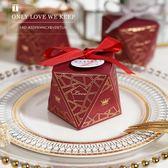 2018新款喜糖盒結婚韓式抖音糖果禮盒歐式婚禮創意個性寶寶滿月  初見居家