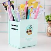 多功能筆筒創意時尚卡通小清新學生桌面文具收納盒 LQ2032『小美日記』