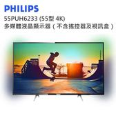PHILIPS 55PUH6233 (55型 4K)多媒體液晶顯示器(不含搖控器及視訊盒)