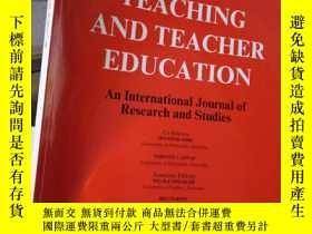 二手書博民逛書店Teaching罕見and Teacher Education
