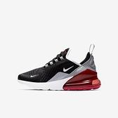 Nike Air Max 270 GS [943345-013] 大童鞋 休閒 經典 運動 氣墊 舒適 編織 黑紅
